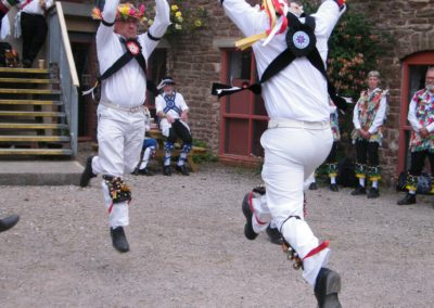 Nick & Tom perform a Bampton Double Jig at the Dean Heritage Centre. 2018